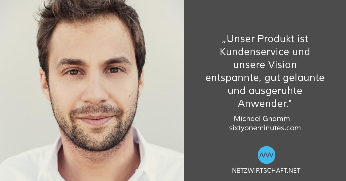 Netzwirtschaft-Interview Michael Gnamm