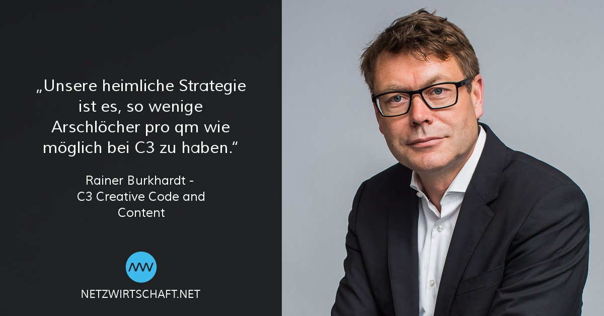 Netzwirtschaft Interview mit Rainer Burkhardt, C3