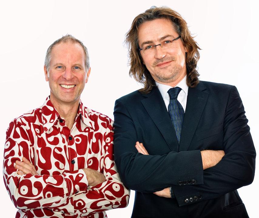 Alexander Büttner und Kai-Oliver Derks teleschau – der mediendienst